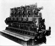 日本丸エンジン(池貝鉄工所製大型ディーゼル)